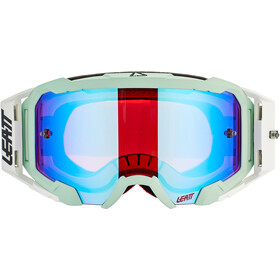 Leatt Velocity 5.5 Iriz Anti Fog Mirror Goggles, white/blue